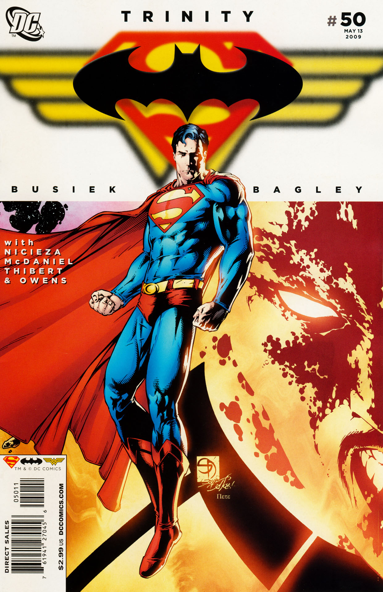 Read online Trinity (2008) comic -  Issue #50 - 1