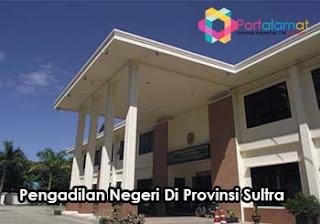Alamat Pengadilan Negeri DI Sulawesi Tenggara