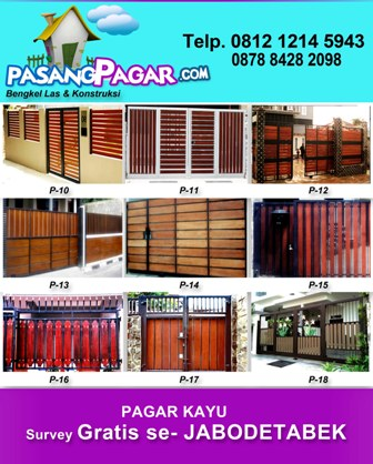 Spesialis Pagar Kayu