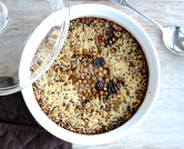 Oven-Baked Whole-Grain Pilaf
