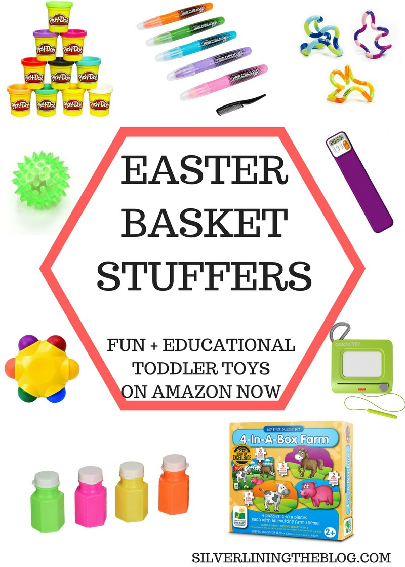Silver lining fun toy easter basket stuffers for toddlers 4 puzzles in a box we purchased this set about a month ago and they have been so fantastic in teaching claire how puzzles work the easiest puzzle is only negle Images