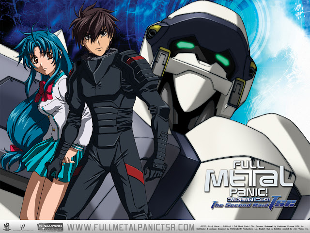 Full Metal Panic The Second Raid (13/13) + OVA (55MB) (HDL) (Sub Español) (Mega)