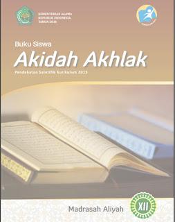 Buku Paket Akidah Akhlak MA Kelas 12 Kurikulum 2013 Update