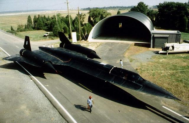 """Lockheed SR-71 """"Blackbird"""" Ulusal Hava ve Uzay Müzesi - Washington, Amerika Birleşik Devletleri"""