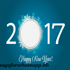 2017 New Year Wishes to Friends on Whatsapp