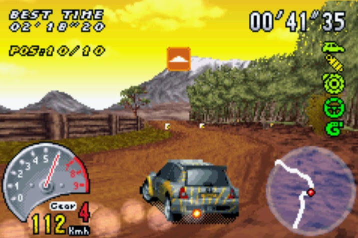 SuperRetroBros  Top 10 Game Boy Advance Racing Games This is probably the most visually impressive game on this list  V Rally 3  is the must have rally racing game on the GBA  Top Gear Rally and Colin  Mcrae do