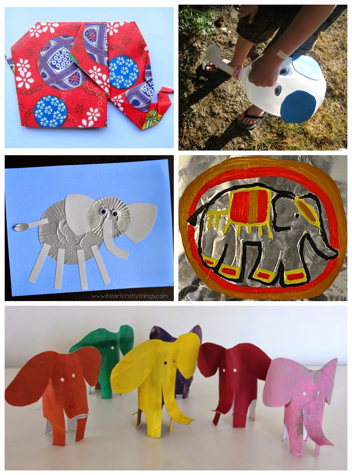 Rubberboots And Elf Shoes Elephant Activities For Children