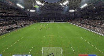 PES 2019 Stadium Orange Vélodrome by S. Elafify
