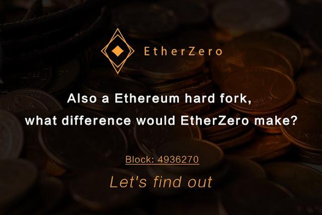 Pengumuman Mengenai Ethereum HardFork EtherZero (ETZ)
