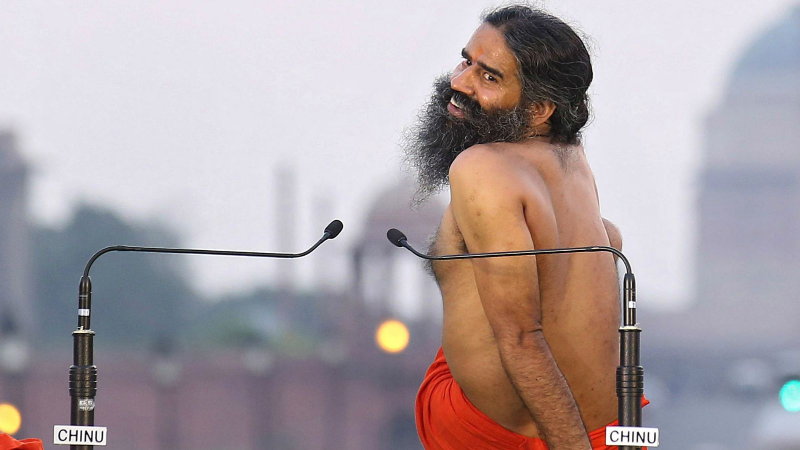 Baba Ramdev Opposes International Yoga Day By Going Shirtless