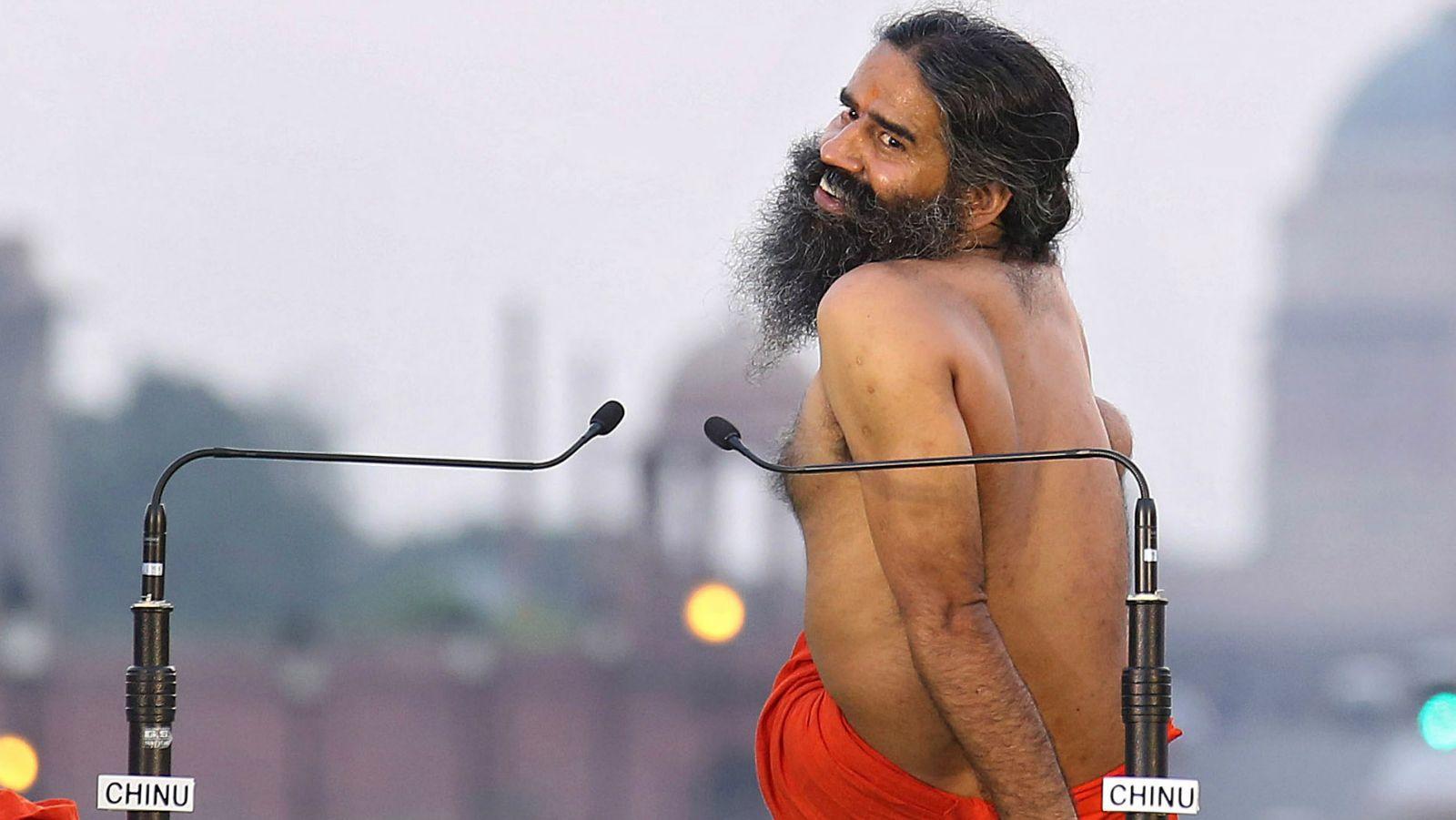 Baba Ramdev Opposes International Yoga Day By Going Shirtless