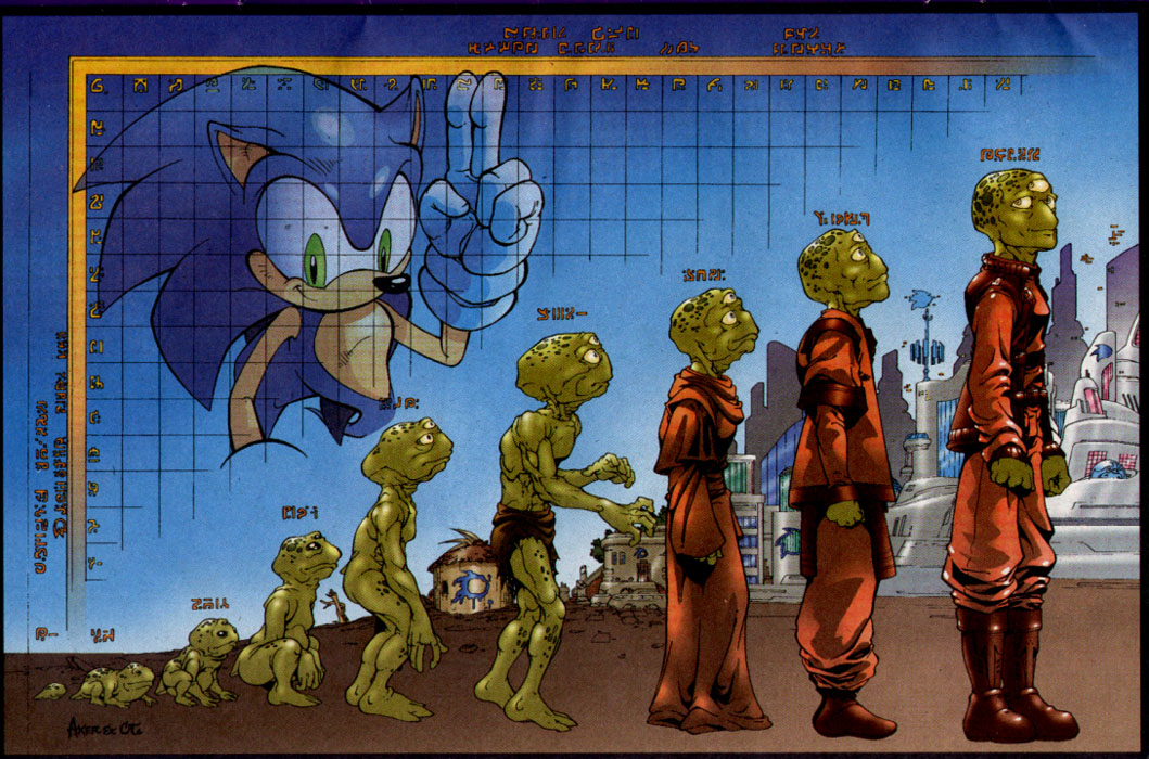 Read online Sonic The Hedgehog comic -  Issue #127 - 2