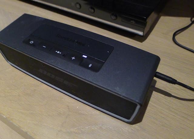 Bose SoundLink Mini II - AUX