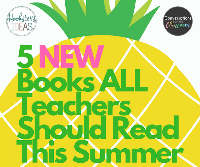 Are you looking for something new to read this summer?  These five books are sure to give you some great ideas for next year!