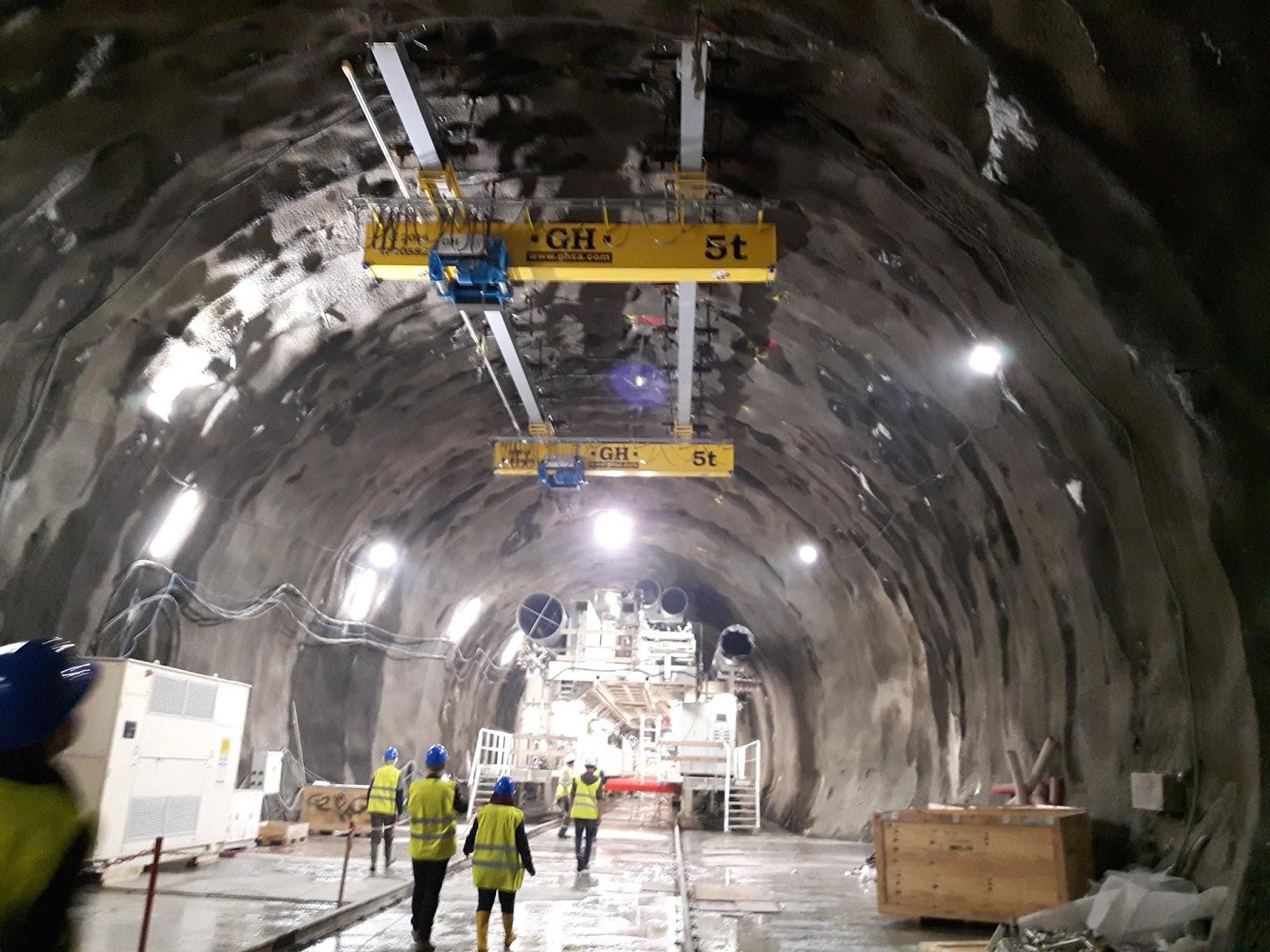 Overhead Crane Assembly : Master in tunnelling and tbms politecnico di torino