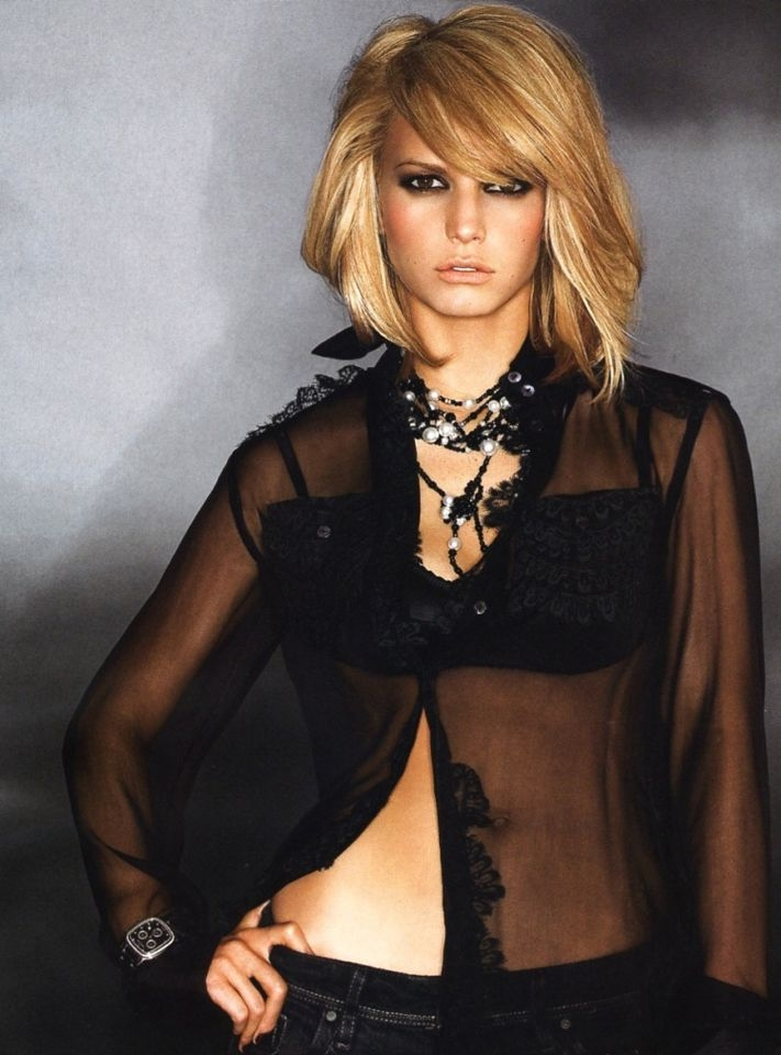 Try On Jessica Simpson S Hairstyles With Our Virtual Hair Styling System View Tips For