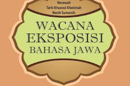 WACANA EKSPOSISI BAHASA JAWA