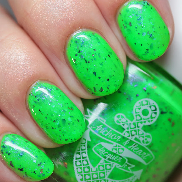 Anchor & Heart Lacquer Partners in Lime