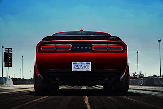 Dodge Challenger Demon SRT Trailer Picture