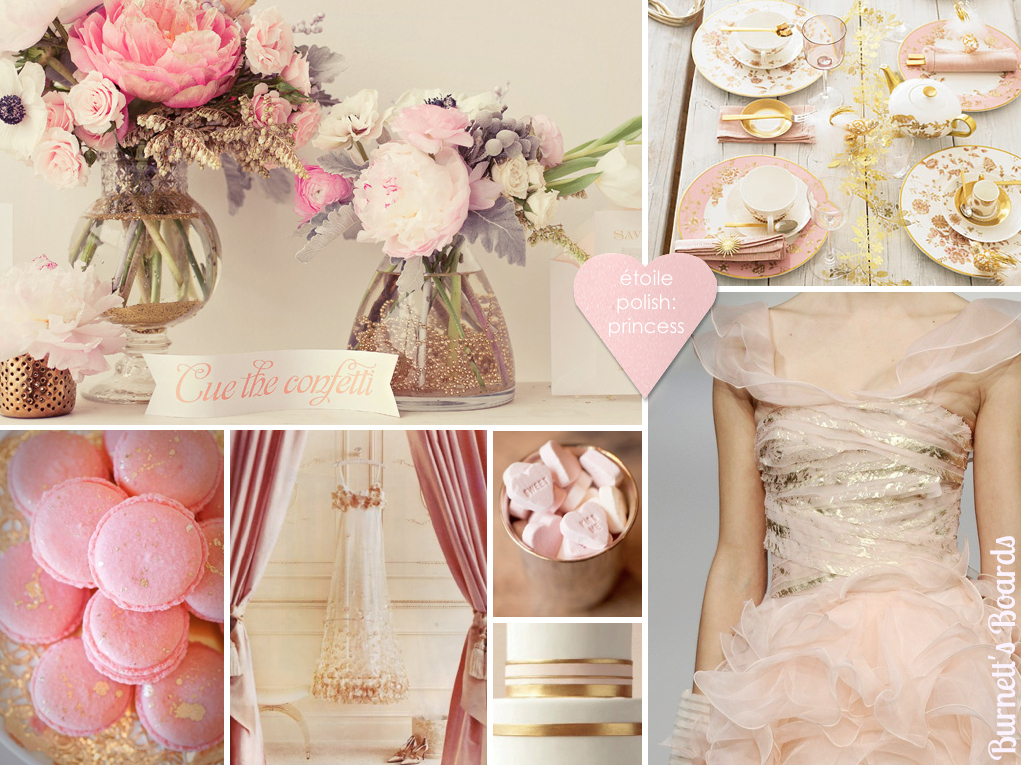 The Autumn Wedding The Girly Pink and Gold Fairytale Wedding