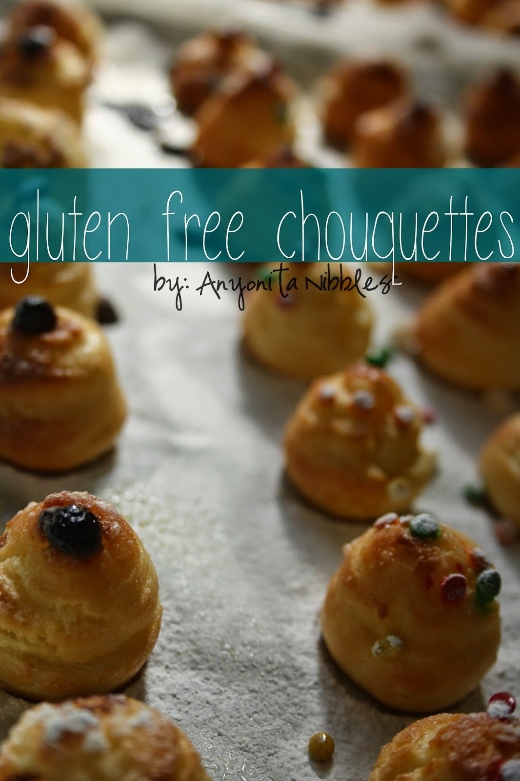 These gluten free sugar topped choux pastry puffs make a perfect treat. Best served straight from the oven from Anyonita Nibbles