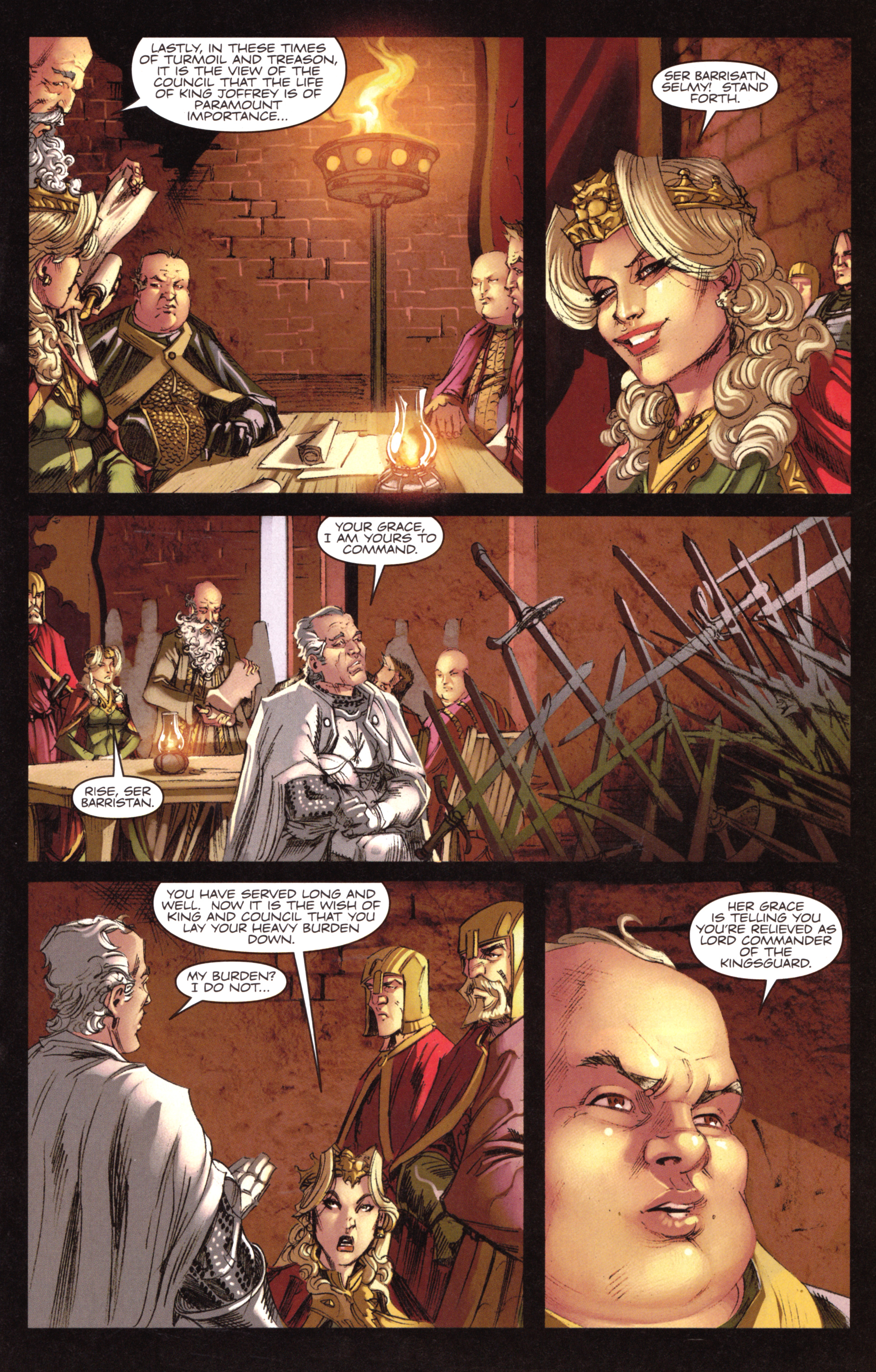 Read online A Game Of Thrones comic -  Issue #18 - 17