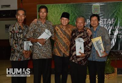 Plt. Bupati Nur Arifin Merasa Terbantu atas Masukan Beberapa Pejabat Pimpinan Tinggi Pratama yang Telah Purna Tugas