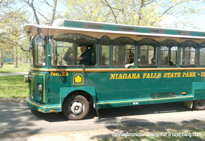 Niagara Falls State Park in New York - Trolley Tour