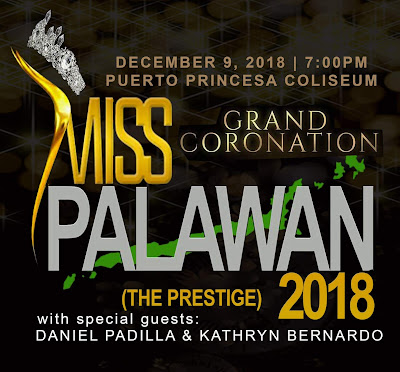 Announcing the new beauty search, Miss Palawan 2018!