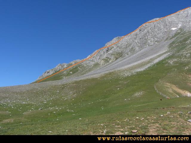 Ruta Tuiza de Arriba-Peña Ubiña: Alto Terreos