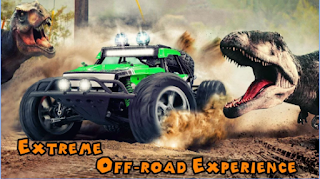 Download Dino World Car Racing Apk