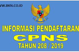 Pembukaan Lowongan CPNS 2018 2019 [www.sscn.bkn.co.id]