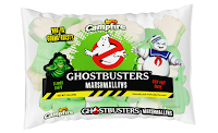 Ghostbusters official marshmallows Stay Puft Slimer shapes