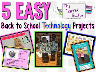 5 Easy Back to School Technology Project Ideas