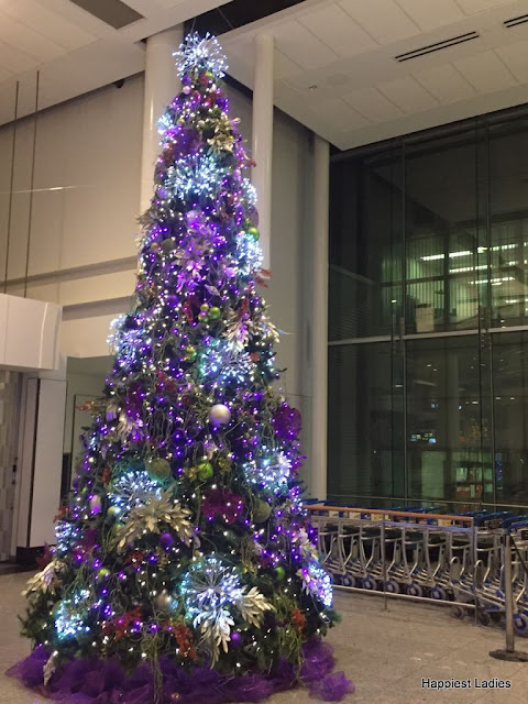 Montreal airport Christmas tree
