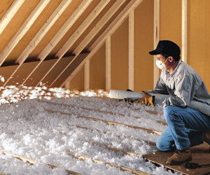 Blow-in Fiberglass Insulation - Delmarva Insulation