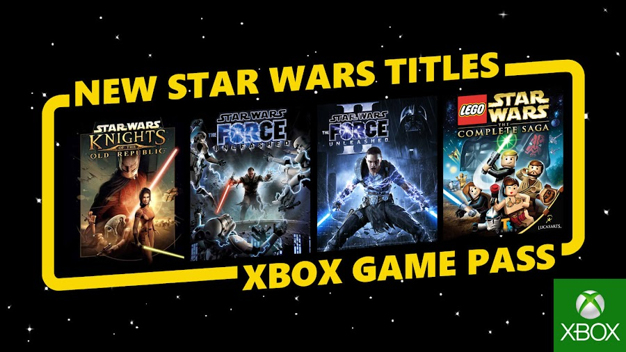 xbox games pass star wars