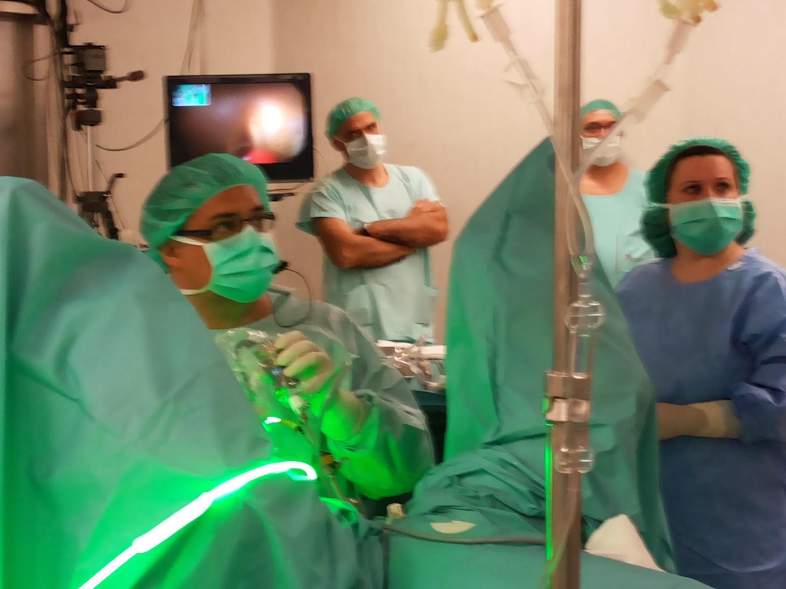 cirugía de próstata del lóbulo medio