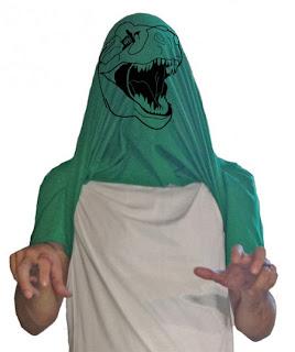 Diseño de camiseta ingeniosa con monstruo
