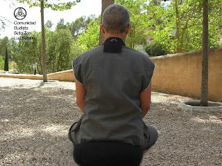 Monja Novicia Zen de la Comunidad Budista Soto Zen Luz Serena