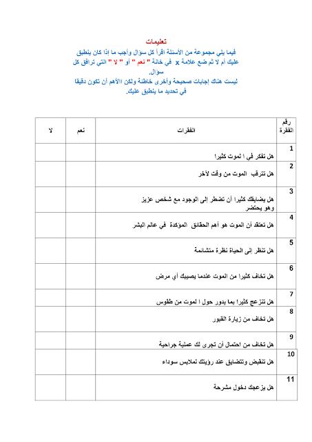 تحميل كتاب قلق الموت pdf