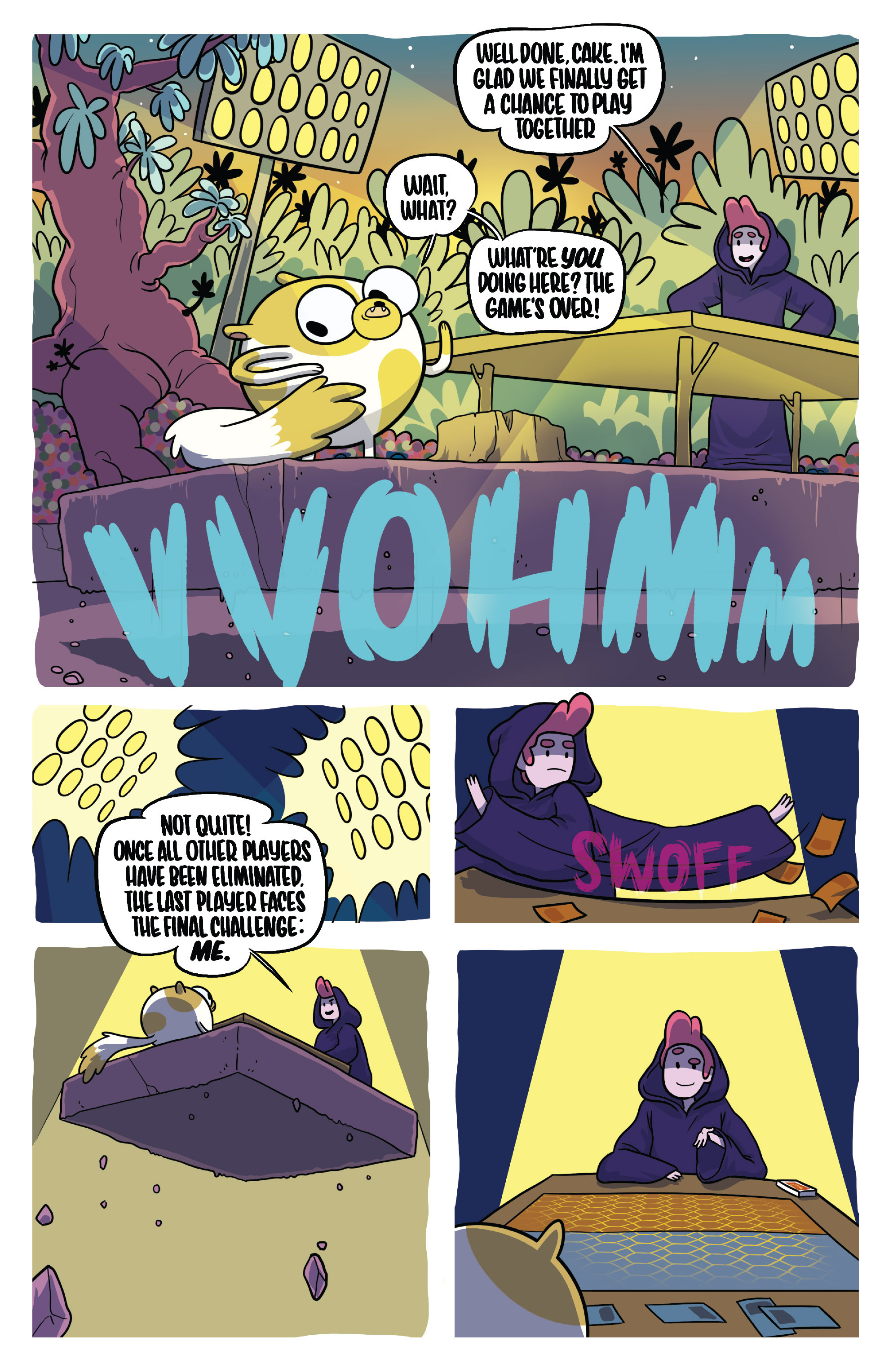 Read online Adventure Time Fionna and Cake Card Wars comic -  Issue #5 - 21