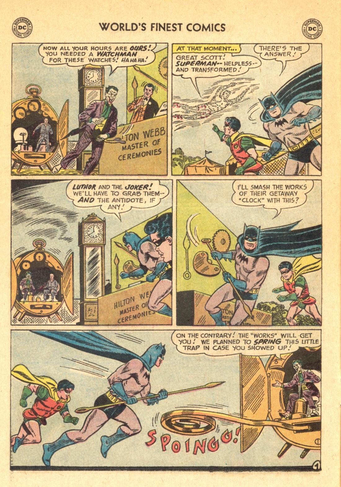 Read online World's Finest Comics comic -  Issue #129 - 6