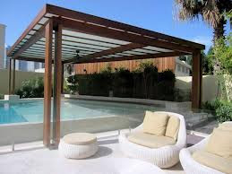 Wooden Swimming Pool Shades Pergola Suppliers and Installation in UAE