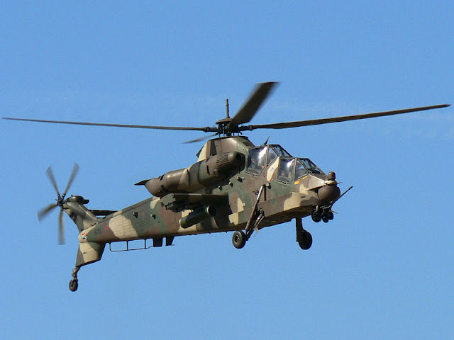 Gambar Helikopter Denel Rooivalk
