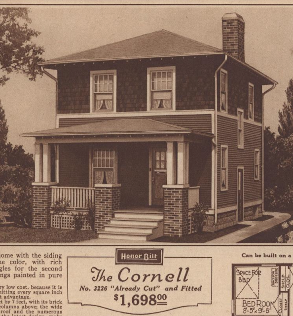 Sears Cornell 1925 Sears Modern Homes catalog