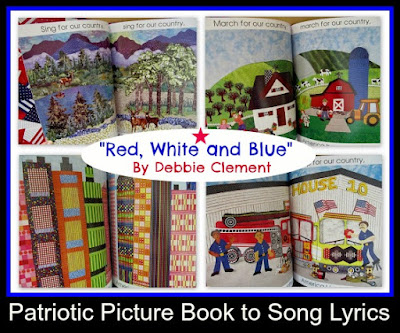 Red, White and Blue by Debbie Clement