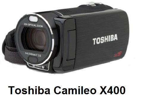 Toshiba Camileo X400 PA3974E-1C0K Full HD camcorder deal at eBay