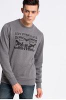 Levi's - Bluza din tesatura cu imprimeu • Levi's