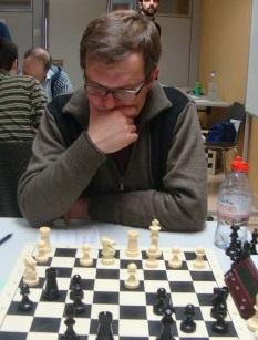 El ajedrecista del Granollers Valentí Soler en 2015